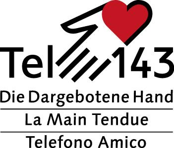 Die Dargebotene Hand - Logo